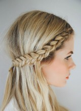 tresse couronne mariage