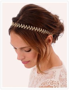 coiffure chignon mariage avec headband la coiffure. Black Bedroom Furniture Sets. Home Design Ideas