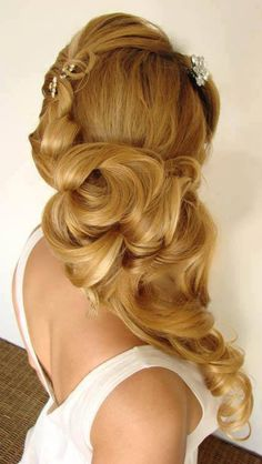Coiffure Blonde Cheveux Long Mariage