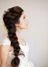 coiffure mariage grosse tresse