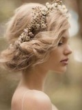 coiffure mariage tresse couronne